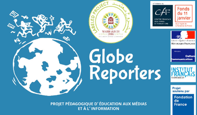 logo globe reporter